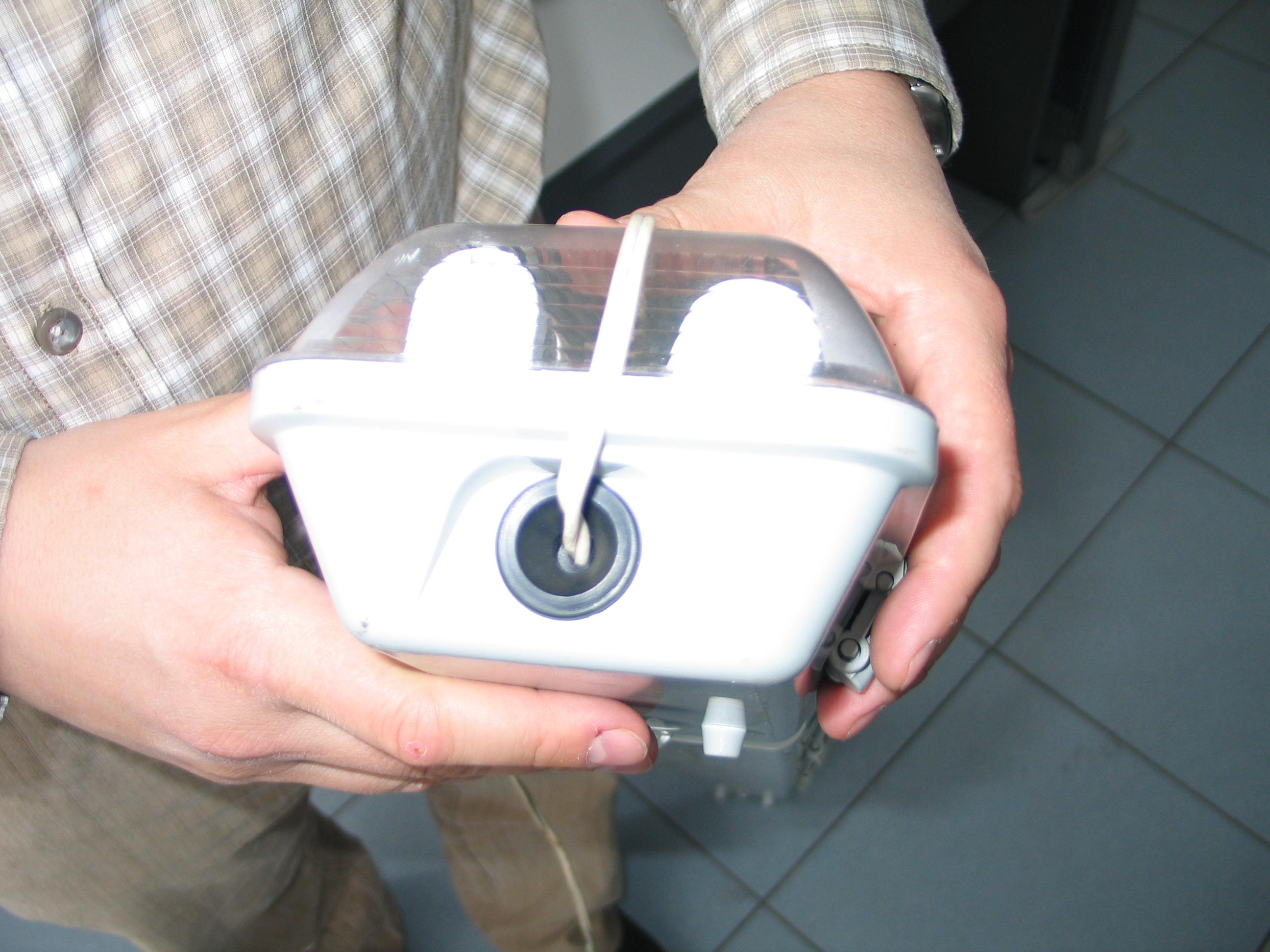 Светильник пылевлагозащищенный. Торцевая заглушка