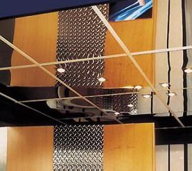 Зеркальные кассетные потолки